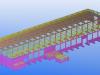 Precasting Yard - Isometric View 2