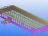 Precasting Yard - Isometric View 3